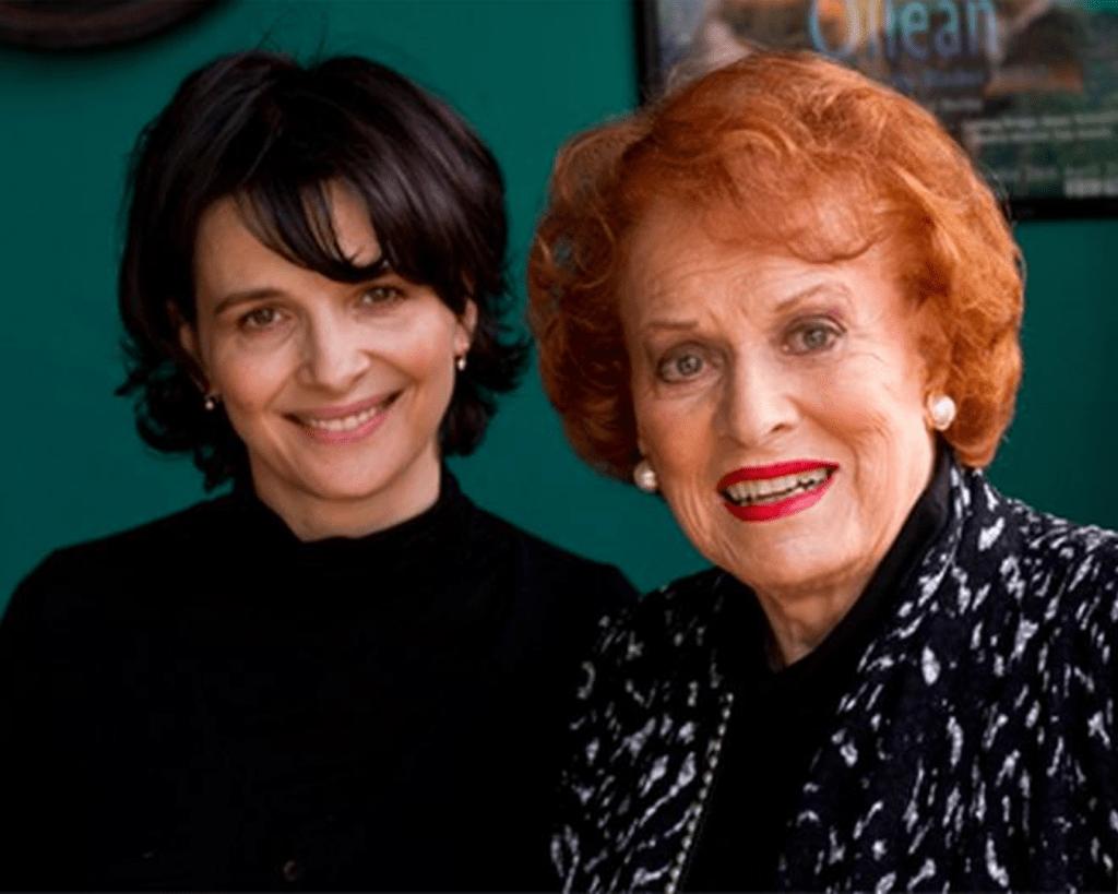 Juliette Binoche and Maureen O'Hara