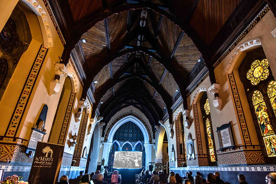 Mise Eire Screening St Mary's Church