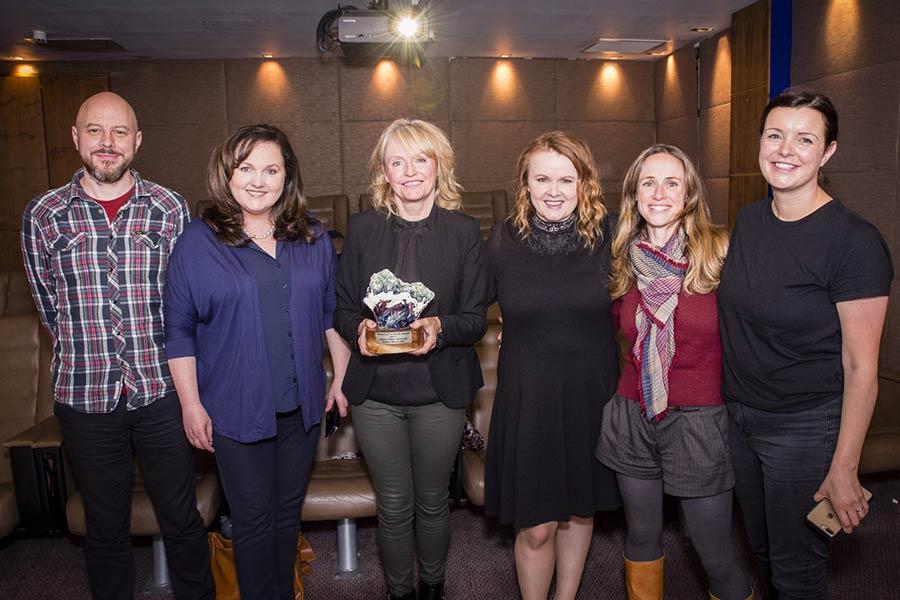 Kerry Film Festival 2013 Maureen O'Hara Award, Emer Reynolds